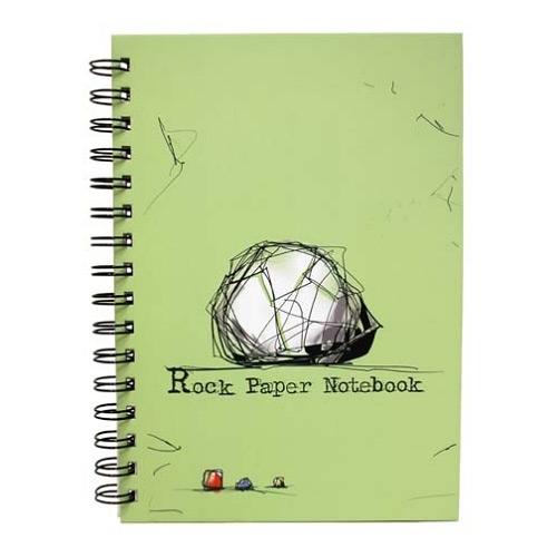 rock paper notebook